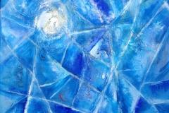 Ice Window, Acrylic (20 x 20)