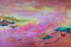 Valley of Gods, Acrylic (18 x 24)